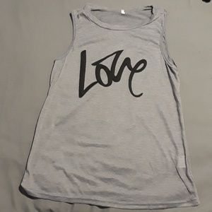 Tops - Love Shirt NWOT